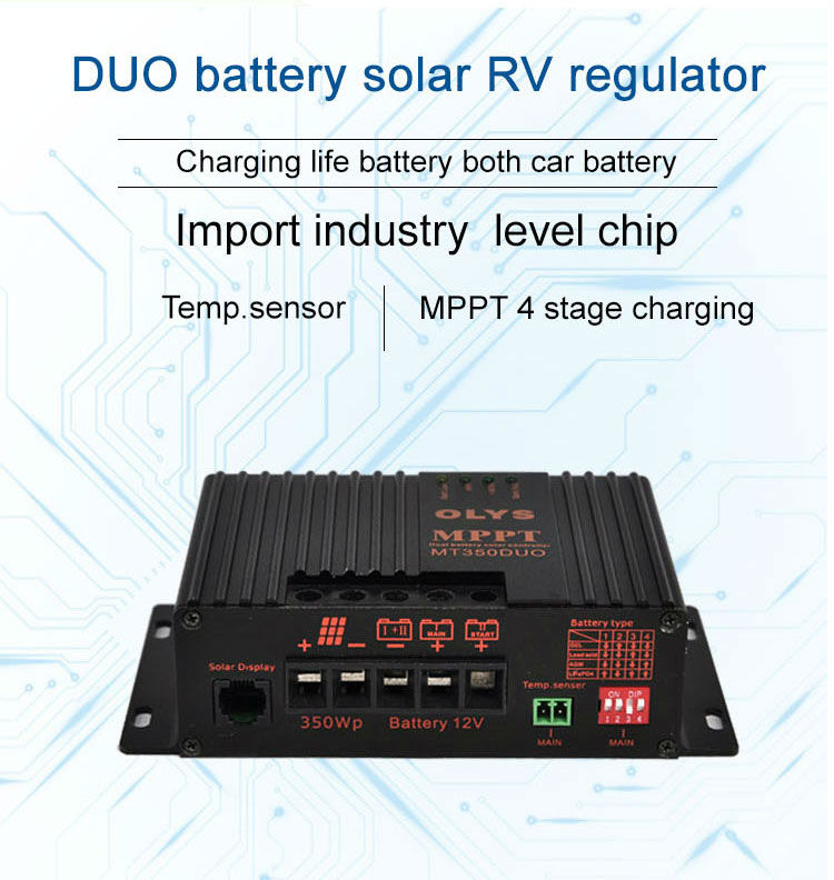 Solar Charging Controllers for camper-SHENZHEN OLYS company